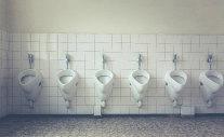 Verstopte urinoirs